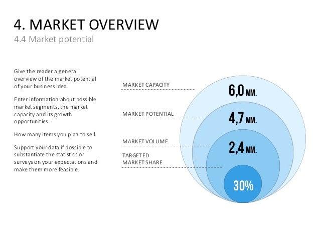 Market potential business plan