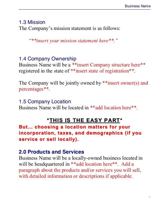 Bmo business plan writer
