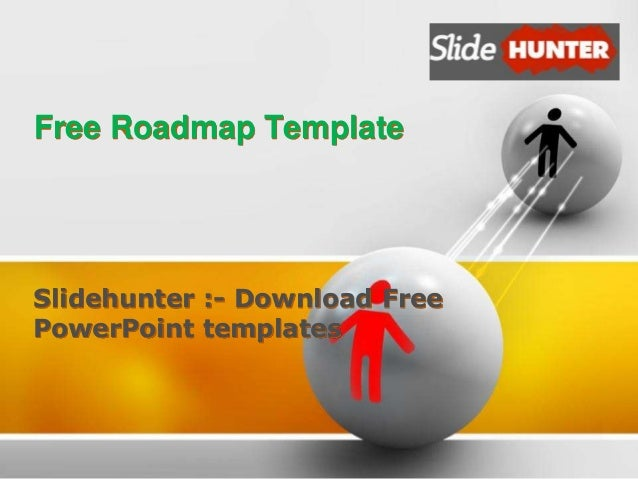 free roadmap template slidehunter download free powerpoint templates - Free Roadmap Template