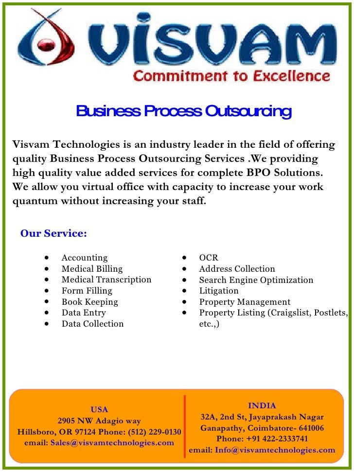 Business Process Outsourcing <ul><li>Our Service: </li></ul><ul><ul><li>Accounting  </li></ul></ul><ul><ul><li>Medical Bil...