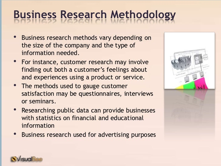 Business thesis methodology