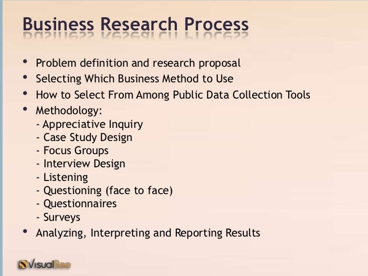 what is business research methodology Business research is a field of practical study in which a company obtains data and analyzes it in order to better manage the company business research can include.