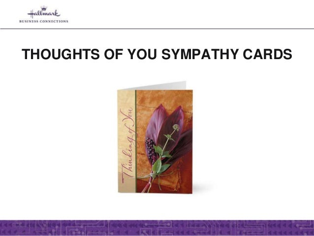 business sympathy cards