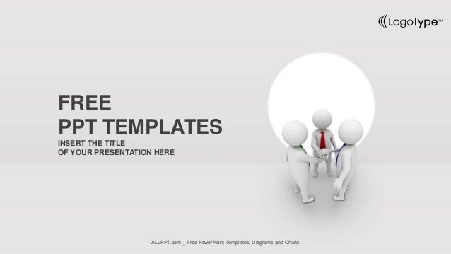 Business team joining hands ppt templates widescreen insert the title of your presentation here free ppt templates allppt free powerpoint toneelgroepblik Gallery