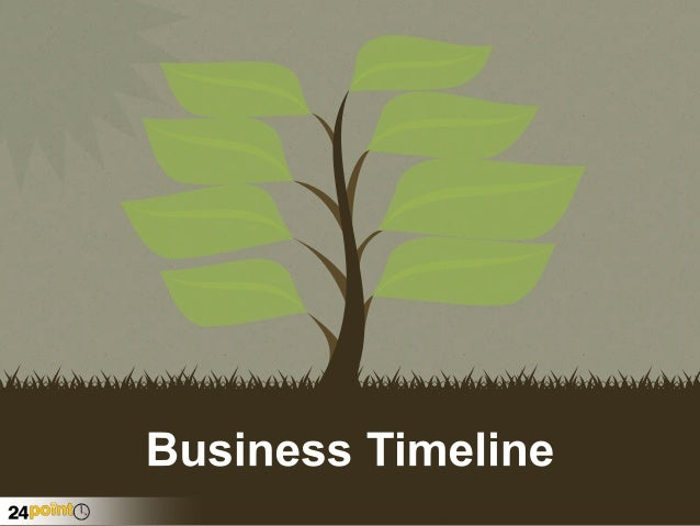 business timeline template powerpoint presentation