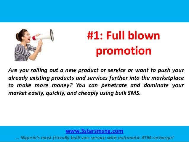 Business Uses of Bulk SMS Slide 2