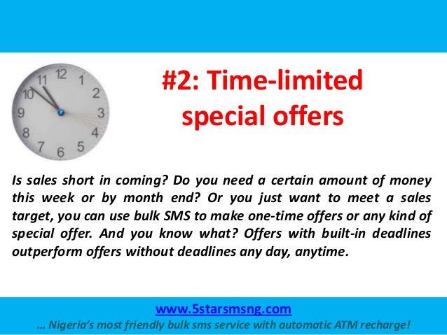 Business Uses of Bulk SMS Slide 3