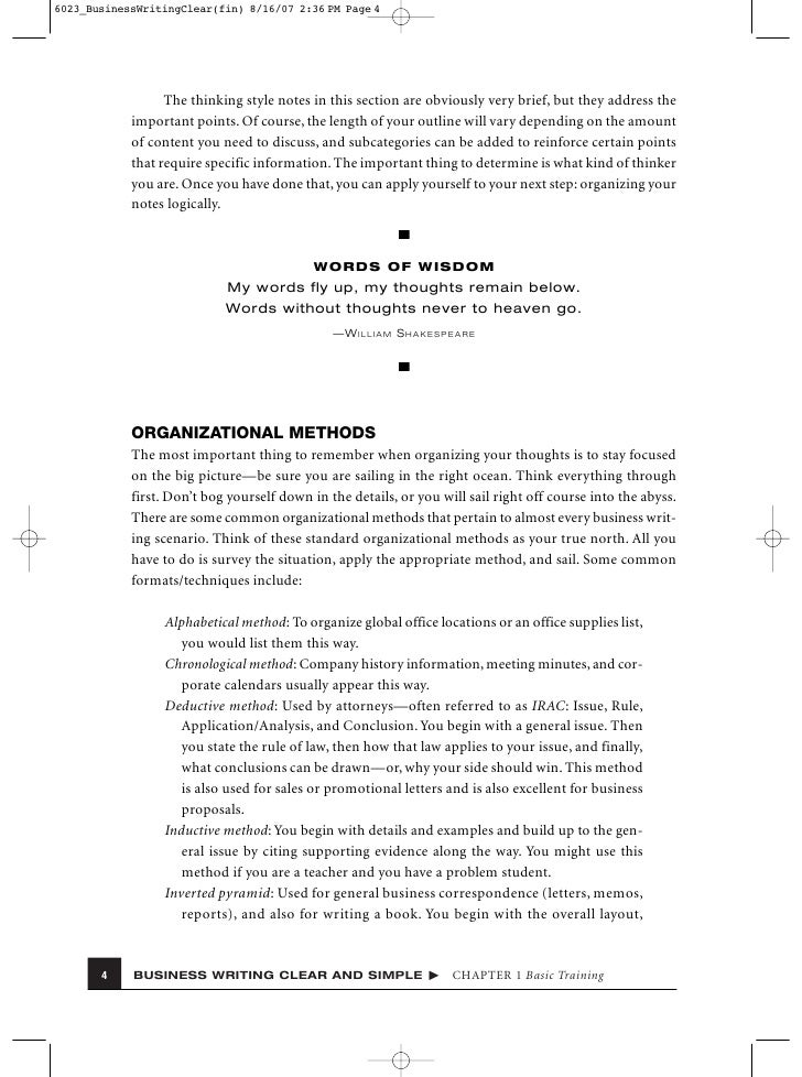 Sample irac essay