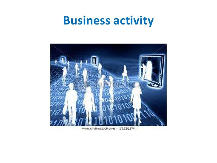business activity Definition of business activity code: a six digit code used in business to classify the principal activity a company performs the business activity code is used by the irs to categorize companies for tax.