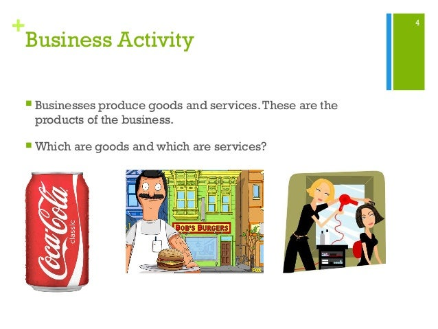 business activity 1 1 understanding business activity outline the unit starts by exploring how business activity is used to help produce the goods and services to meet our needs and wants key terms such as opportunity cost, specialisation and added value are introduced.