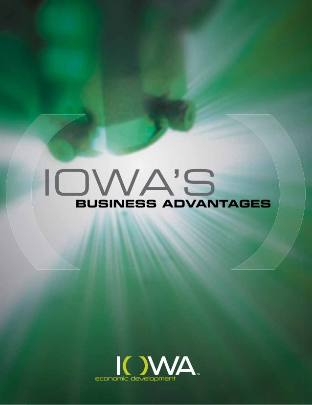 Iowa's business climate has never been more favorable. Iowa has the lowest cost of doing business in the nation, is perfec...