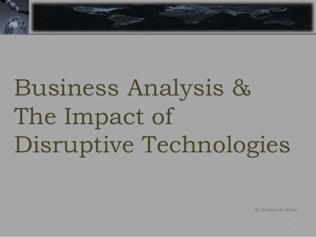Conclusion on technology making business better