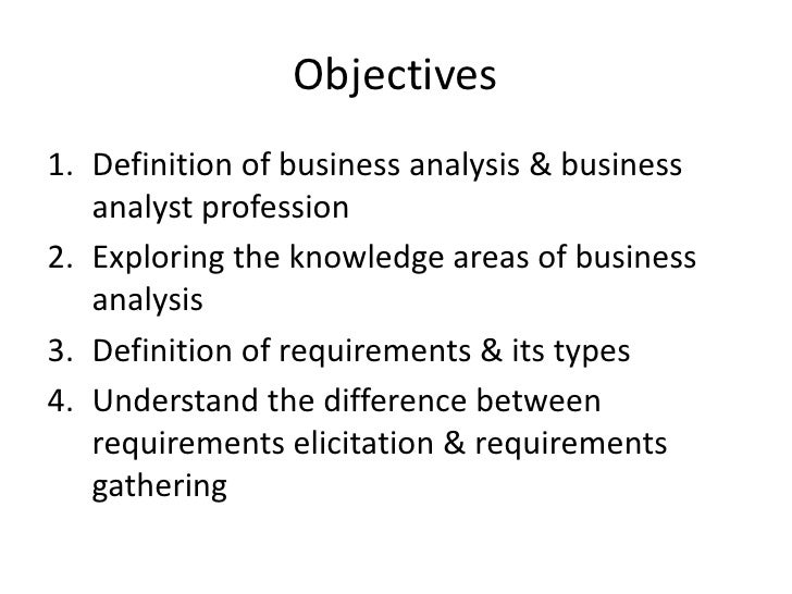 definitions in business analysis Definitions and descriptions of analysis as analysis, definition, paraphrase for the business of metaphysics is actually the analysis of confused cognitions.