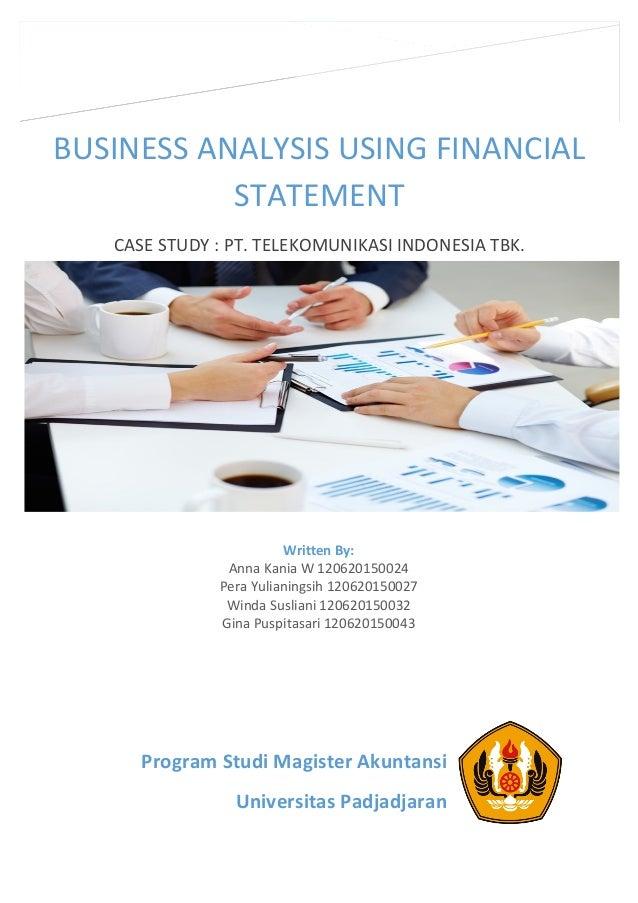 financial statement analysis case study
