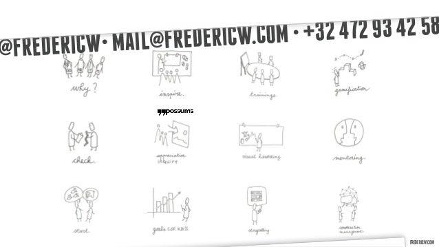 AIL@FREDERI CW.COM • +32 472 93 42 58@F REDERICW• M                                               FREDERICW.COM