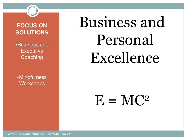 FOCUS ON    SOLUTIONS                                           Business and    Business and                            P...