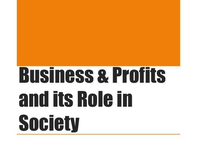 essay on role of profit in business Cost-volume-profit analysis is a tool that can be utilized by business managers to make better business decisions among the tools in a business manager's decision-making arsenal, cvp analysis .