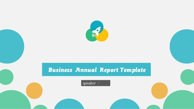 Business annual report template business annual report template speaker wajeb Gallery