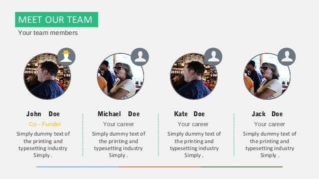team template
