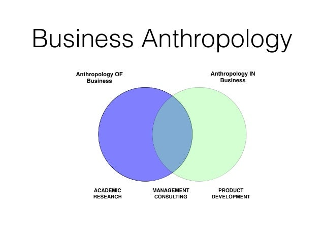 Anthropology in Business?