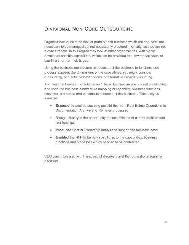 Business Architecture Case Studies