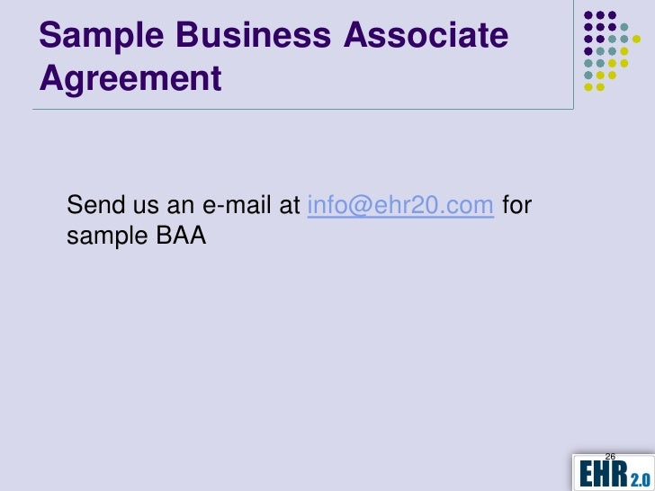 Business Associate Assessment Agreement and Requirements – Business Associate Agreement Template