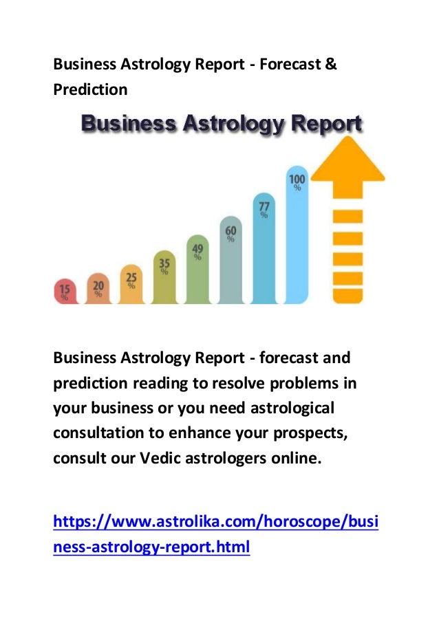 Business astrology report - astrolika com