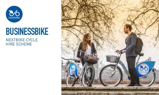 BusinessBike nextbike cycle hire scheme