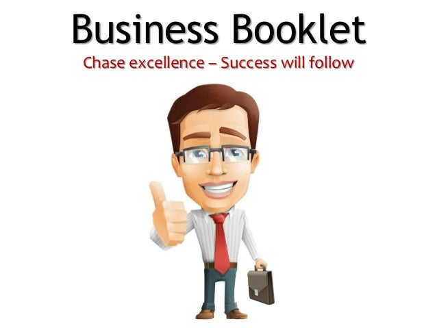 Business Booklet Chase excellence – Success will follow