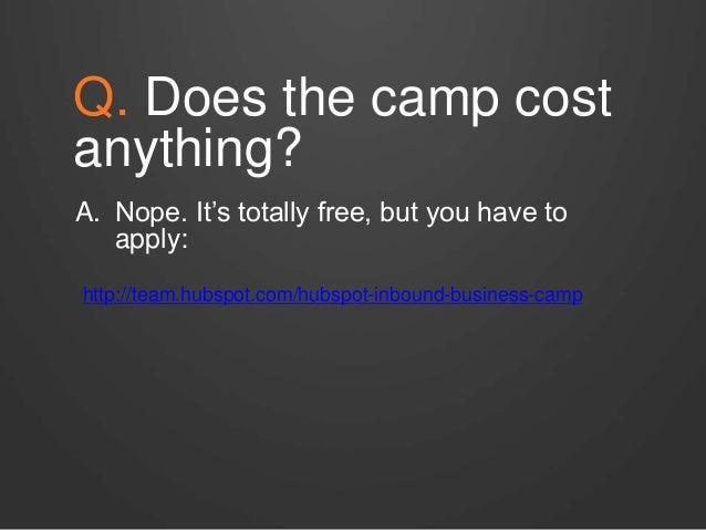 Inbound Business Bootcamp Slide 3