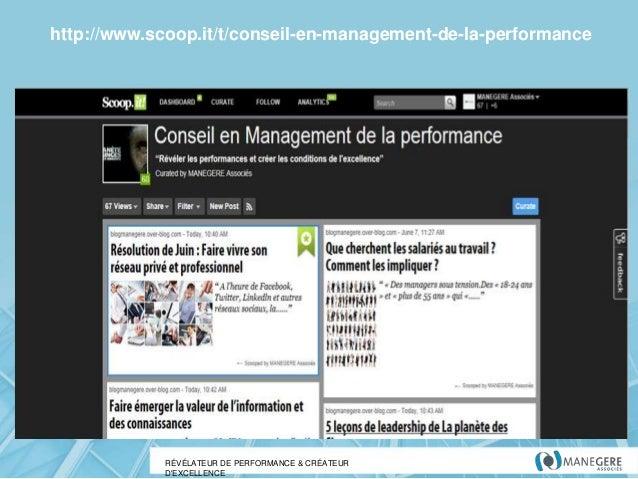 http://www.scoop.it/t/conseil-en-management-de-la-performance  RÉVÉLATEUR DE PERFORMANCE & CRÉATEUR D'EXCELLENCE