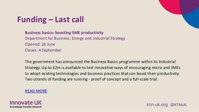Digital Business Briefing September 2018 Slide 3
