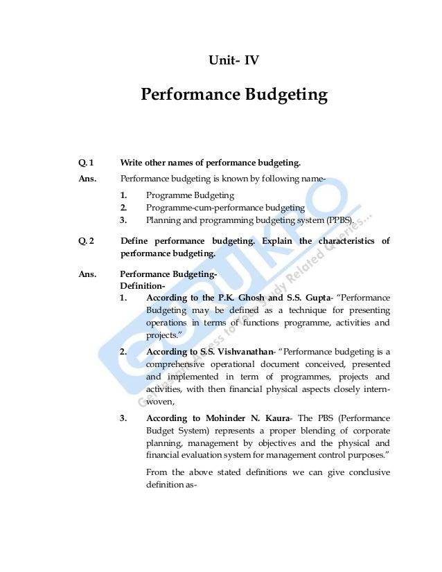 how to write a business budget