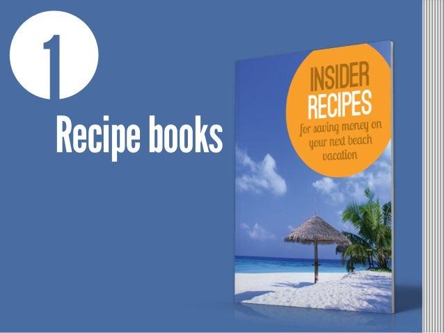 1 Recipebooks