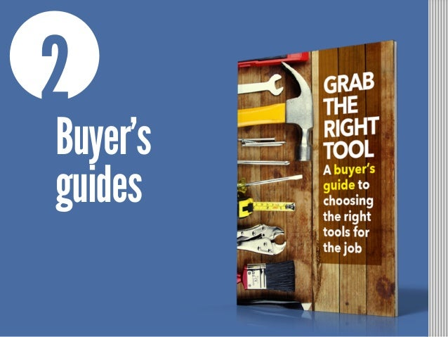 2 Buyer's guides