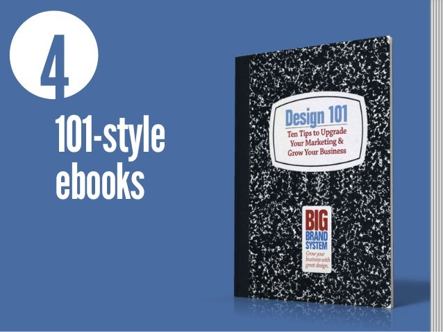 4 101-style ebooks