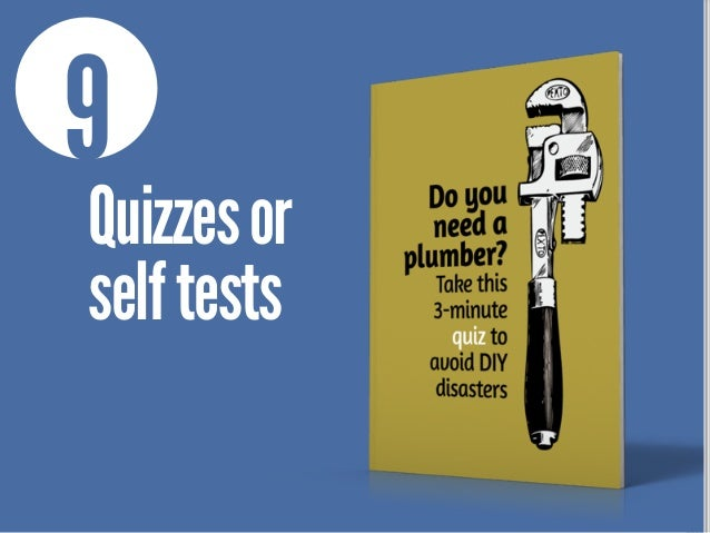 9 Quizzesor selftests