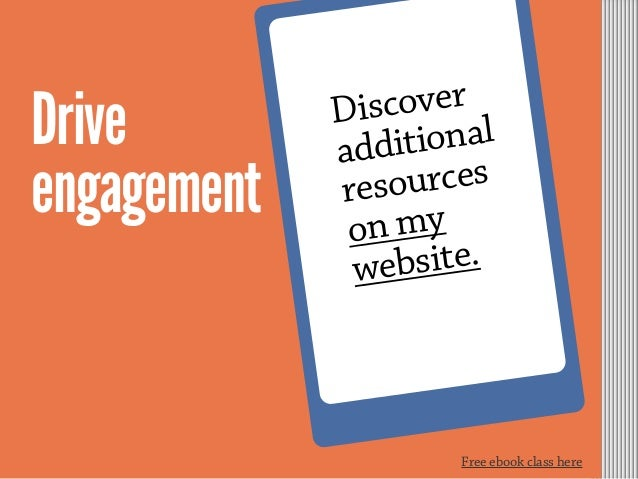 Free ebook class here Drive engagement Discover additional resources on my website.