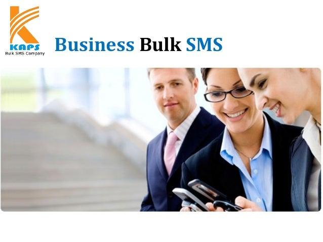 Business Bulk SMS KAPSYSTEM