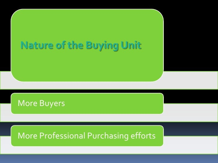 business buying behavior Department of business administration and social science  the organisational  buying behaviour is a complex and dynamic process that requires plenty.