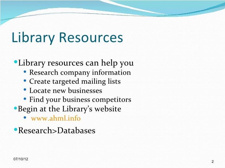 Databases for Business Slide 2