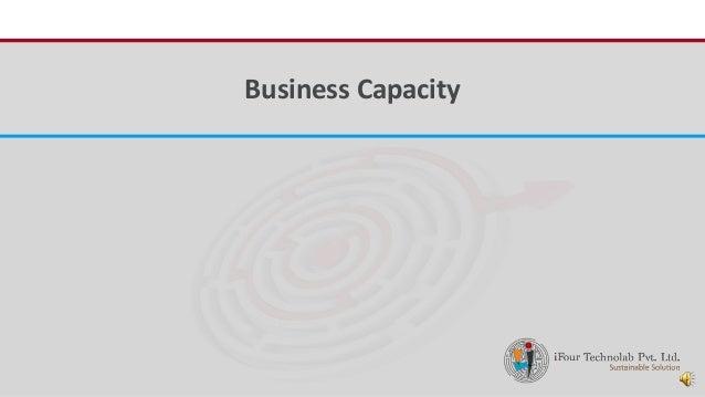 iFour ConsultancyBusiness Capacity