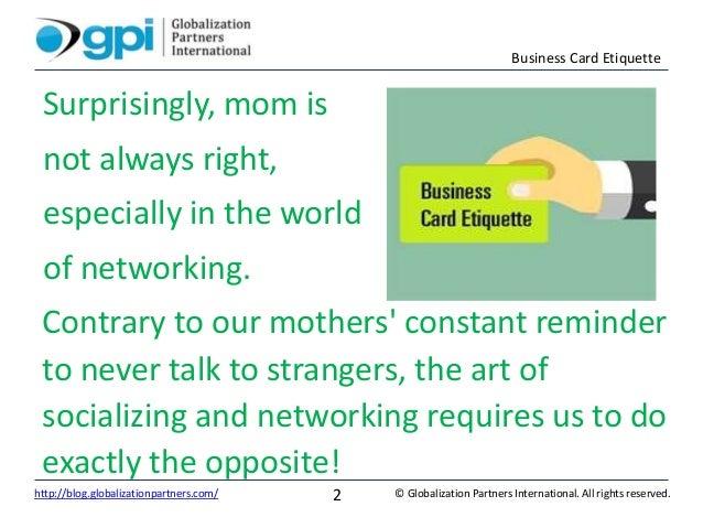 Business card etiquette business card etiquette 2 business reheart Choice Image