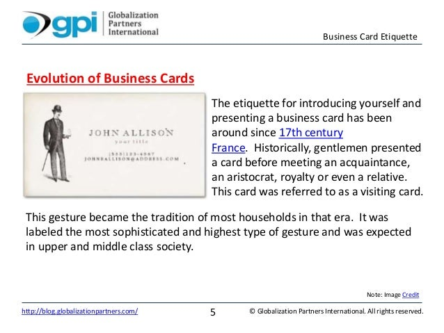 Business card etiquette business card etiquette reheart Image collections