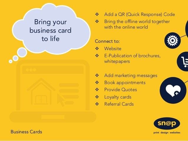 Snap the value of business cards 2 v reheart