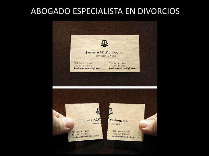 ABOGADO ESPECIALISTA EN DIVORCIOS<br />