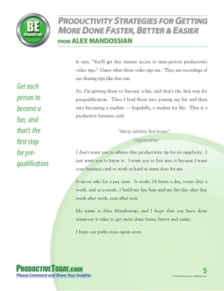 Business card tips alex mandossian how to make money online how colourmoves