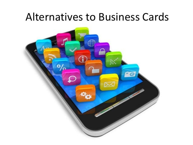 Small business tips are business cards obsolete 5 alternatives colourmoves