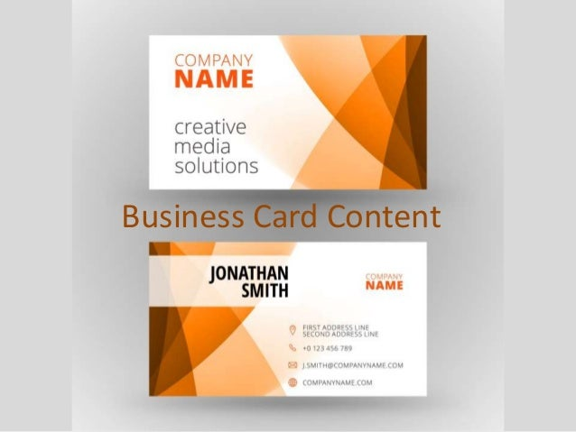 Small business tips are business cards obsolete 9 business colourmoves