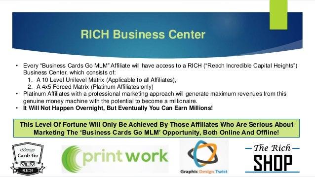 BUSINESS CARDS GO MLM
